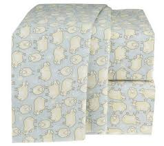 sheep sheets northern nights counting sheep 100 cotton twin flannel sheet set