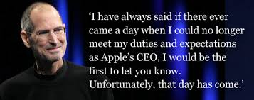 Steve Jobs Resigns as Apple CEO - WSJ
