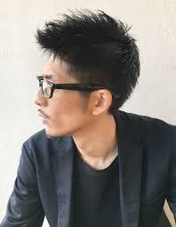 メンズ30代メガネが似合う髪型ny 69 ヘアカタログ髪型ヘア