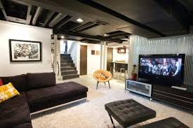 small basement ideas on a budget industrial by architect bar61 basement