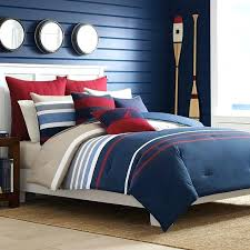 nautica bradford reversible cotton comforter set a ping great deals on nautica comforter sets bedding duvet