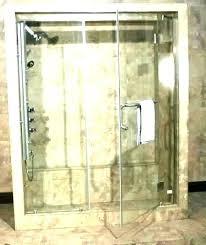 glass shower door installation cost showy how