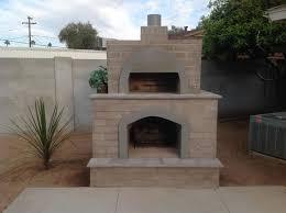 Brick Pizza Oven & Outdoor Fireplace: Phoenix | Desert Crest LLC