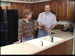 installing a kitchen countertop and sink