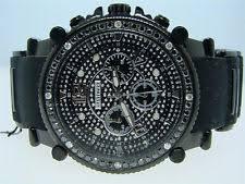 black diamond watch mens jojo jojino joe rodeo black diamond watch 2 25 ct