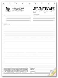 Job Proposal Form Printable Blank Bid Proposal Forms Printable Quote Mr