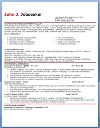 Gallery Of It Help Desk Support Resume Sample Resume Downloads