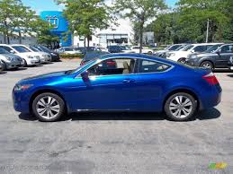 2008 Belize Blue Pearl Honda Accord EX-L Coupe #52547956 ...