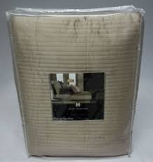 Hotel Collection Bedding Cubist Full / Queen Quilted Coverlet Tan &  Adamdwight.com