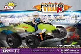 Монстр-трак <b>ATV Competition</b>. <b>COBI</b> 20059.