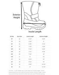 Toddler Foot Growth Chart Oaki Sizing Charts