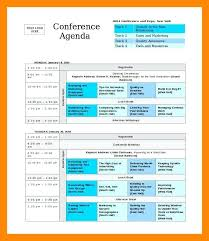 Business Event Program Template – Giancarlosopo.info