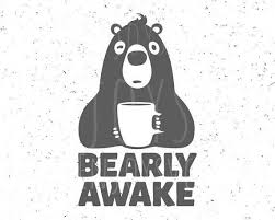 Choose a curve, adjust complexity, randomize! Pin By Kawoat Jung On Dreams In 2020 Coffee Svg Sleepy Bear Funny Bears