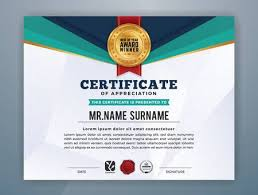 Corporate Certificate Template Simple Multipurpose Modern Professional Certificate Template Design