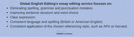 essay editing services by global english editing what to expect from our essay editing service