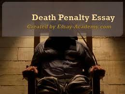 catchy title death penalty essay a good title for my anti death penalty paper yahoo answers