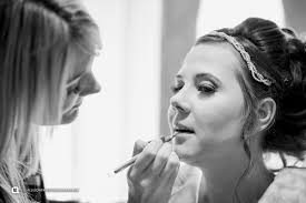 kerry from cambridge makeup artist applying tiffany s makeup at the beautiful south farm