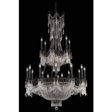 image chandelier lighting. Elegant Lighting Esperanza 27 Light Chandelier 9327G41DB/EC Image