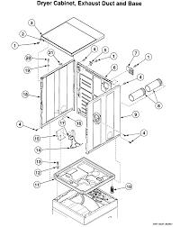 speed queen washer dryer parts model ltzaawn sears partsdirect speed queen washer dryer dryer cabinet parts