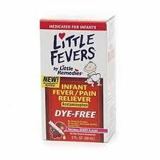 Little Remedies Infant Fever Pain Liquid Dye Free Natural Berry 2 Oz Ebay