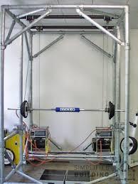 diy pipe squat rack