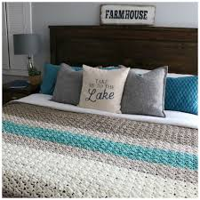King Size Crochet Blanket Pattern