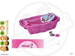 the first years minnie mouse bath tub w bath sling toys