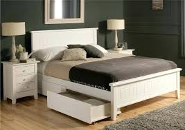white painted wooden bed frames with shelves queen size mattress connected grey beds uk si painted beds metropolitan bed frame detail sleigh wooden
