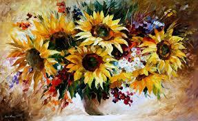 leonid afremov oil on canvas palette knife original paintings art famous artist biography official page gallery large artwork sun