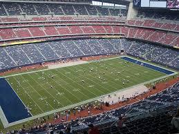 Nrg Stadium View From Grid Iron 613 Vivid Seats