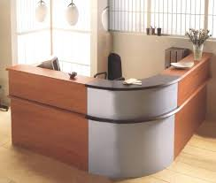 office furniture office reception area furniture ideas. Office Medium Size Sleek L Shaped Table For Front Liners Design By Reception Desk Furniture With . Area Ideas R