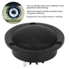 Tweeter Speaker Box Design Us 20 14 16 Off 4ohms 35w Silk Film Dome Aluminium Tweeter Speakers Car Hifi Loudspeaker Black Car Audio Speaker In Speakers Sets From Automobiles