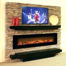 wall mount gel fireplaces mounted fireplace inch log linear electric reviews paramount fuel logs home depot