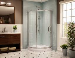 The Fleurco Roma ARC 2 Corner Shower Enclosures are constructed with
