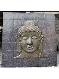 buddhas plaques buddha garden wall