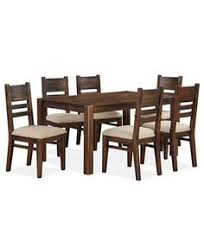 avondale 7 pc dining room set only at macy s table 6 side chairs macys