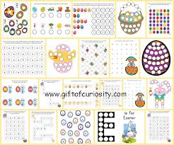 Easter Do A Dot Printables Gift Of Curiosity