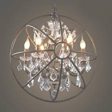 orb crystal chandelier photo of foucaults large