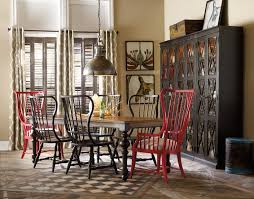 furniture dining room sanctuary tall spindle arm chair chairs centerpieces in spanish table light fixture design black sets round grand palais