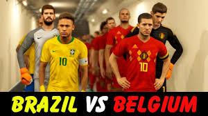Brazil vs Belgium live