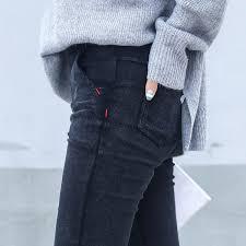 <b>Узкие джинсы</b> женщина Бойфренд мыть эластичный джинсовые ...