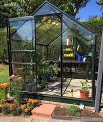 8x6 halls qube greenhouse