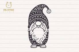 I could'nt find svg version of gnome logo so i traced a bitmap and here it is. Free Svgs Download Scandinavian Gnomes Svg Gnome Clipart Tomte Free Design Resources