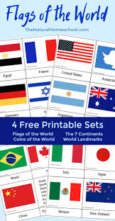 World country flags for kids. Fantastic Country Flags Of The World With 4 Free Printables The Natural Homeschool