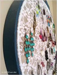 10 lovely diy earring holder ideas for you 3