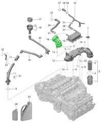 buy porsche boxster 986 987 981 oil separators vent lines in 3