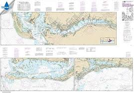 Noaa Intracoastal Waterway Charts Amazon Com Paradise Cay Publications Noaa Chart 11427
