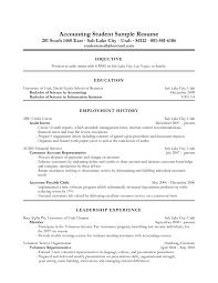 An Accountant Resume Elegant Objective Accounting Resume Black