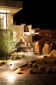 Landscape Lighting Was Made For Pueblo Revival Style