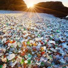 fort bragg sea glass